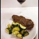 Steak and Zucchini